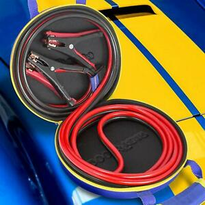 New Goodyear 12 Ft 8 Gauge Jumper Booster Cables With Carrying Case