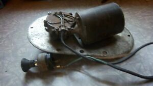 1965 Sweptline Wiper Motor And Switch 1963 1964 Dodge Truck Used Works Sweptside