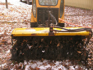 Trackless Municipal Power Angle Sweeper Street Sweeper Broom Attachment