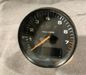 Porsche 993 911 Carrera Tachometer Gauge With Obc Tach W Connector 99364131200