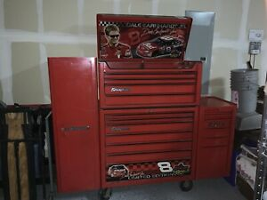 Snap On Tool Box Dale Earnhardt Jr Limited Edition 4 Piece Deluxe