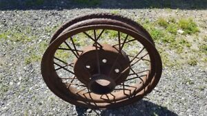 1931 Ford Model A Wire Wheel 19 Rat Rod 5 Hole 5 1 2 Bc 1930 Man Cave Decor