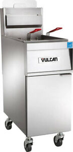 Vulcan 1tr45af Full Pot Floor Model Gas Fryer
