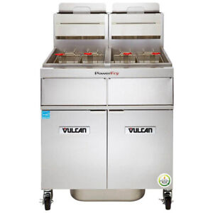 Vulcan 2tr45af Multiple Battery Gas Fryer