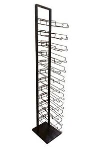 12 Tier Baseball Cap Hat Rack Floor Stand Cap Tower Display