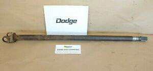 Dodge Ram 1 2 Ton W100 Dana 44 Front Inner Left Hand Axle Shaft 1972 1974