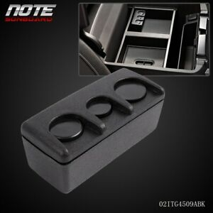 Center Console Coin Holder Dispenser Fits For 14 16 Chevy Black Loose Change Vau
