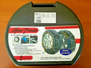 Alpine Premier Tire Snow Chains 1540 P205 75 14 p205 60 15 p195 70 16 p205 70 14