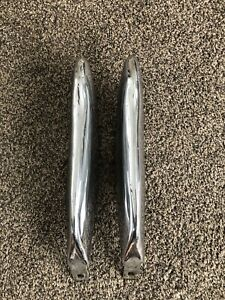 1958 1959 1960 Ford Thunderbird Front Bumper Guards Oem