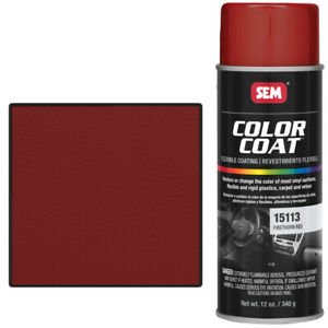 Sem 15113 Firethorn Red Color Coat Vinyl Paint