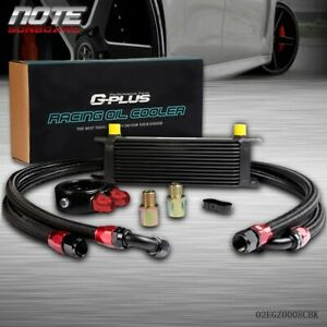 Gplus 13 Row An10 Universal Engine Oil Cooler Oil Lines Filter Adapter Kit