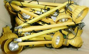 lot Of 10 Loading Dock Light With 60 Dock Arm Assembly Incandescent