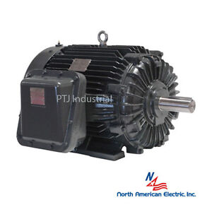 10 Hp Explosion Proof Electric Motor 215t 3 Phase 1800 Rpm Hazardous Location