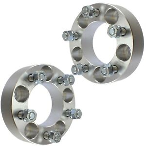 2 1 5 5x5 To 5x5 Wheel Spacers Adapters 14x1 5 For 1988 1999 Chevy C1500