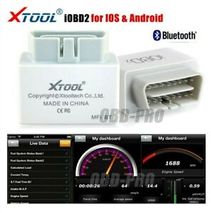 Xtool Iobd2 Eobd Code Reader Diagnostic Scanner Bluetooth Iphone Ios Android