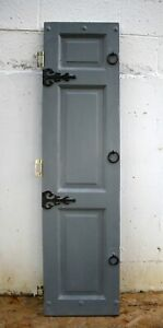 14 X56 Antique Vintage Old Solid Wood Wooden Interior Cabinet Pantry Closet Door