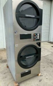 American Dryer Adc Adg330d Stack Dryer 30lb Stainless S n 472450cc ref