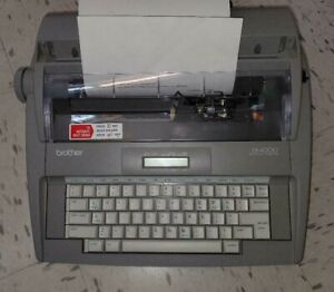 Brother Sx 4000 Electric Typewriter Portable