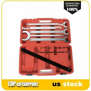 Fan Clutch Water Pump Holder Wrench Tool Sets For Mercedes Benz Bmw Ford 11pcs
