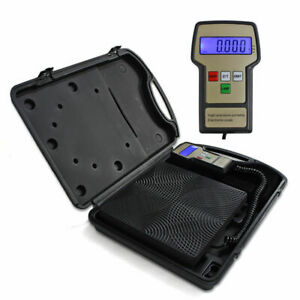 32 113 220lbs Electronic Refrigerant Charging Scale Digital For Hvac W Case