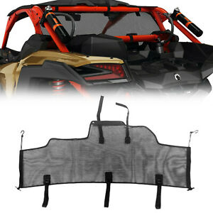2017 2019 Can Am Maverick X3 Max R Rear Wind Screen Mesh 715002897
