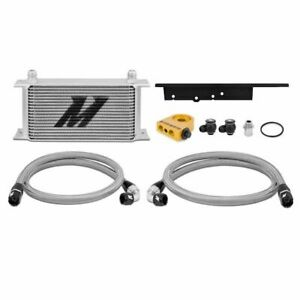 Mishimoto Performance Silver Thermostatic Oil Cooler Kit For 03 07 Infiniti G35