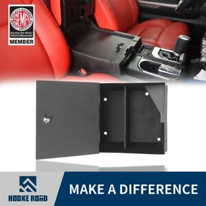 Hooke Road Security Center Console Organizer Lock Vault For Toyota Tundra 14 19