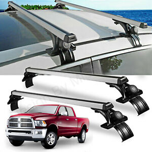 For Dodge Ram Ford Truck Car Top Luggage Cross Bar Roof Rack Carrier Skidproof