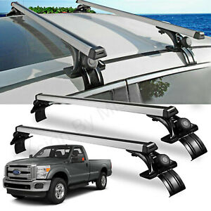 Car Cross Bar Crossbar Cargo Luggage Roof Rack For F 250 F 350 F 450 Super Duty