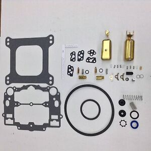Edelbrock Avs Thunder 1800 Series Carb Kit 500 600 750 800 Cfm 2 Brass Floats