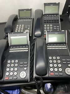 Lot Of 4 Nec Dt700 Series Itl 12d 1 Bk Ip Business Office Phone