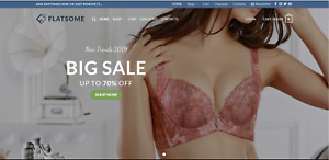 Tunrnkey profitable lingerie store dropship website business for sale