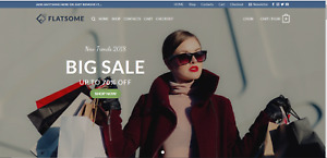Profitable Fashion Turnkey Website Business For Sale dropshipping