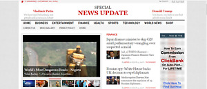 Killer Design profitable News Website For Sale wordpress Turnkey