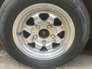 Full Set Of Four Original Western Wheels For Porsche Great Condition