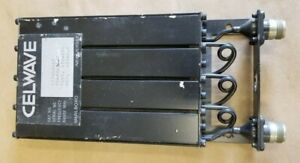 Celwave Uhf Preselector Band Pass Filter Repeater 470 Mhz N P n 633 4a lp