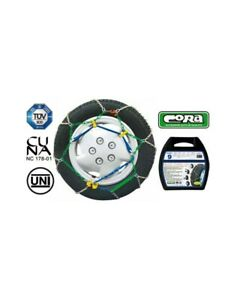 Snow Chains Car 225 55 15 R15 Special Meshes 9 Mm Homologated