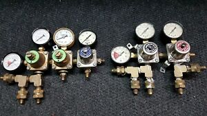 Cornelius Mfg Co Co2 Gas Regulators Lot Of 5