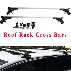 47 Car Top Luggage Cross Bar Roof Rack Skidproof For Chevy Silverado New