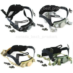 Tactical Airsoft Helmet Head Lock Buckle System Chin Strap Fit PJ BJ MH MICH $25.19