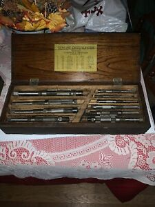 Vintage Genuine Critchley six Adjustable Hand Reamers Also Butterfield Mixed