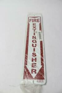 Qty 5 18 X 4 Fire Extinguisher Metal Sign