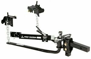 Husky 31986 Round Bar 600 Lb Weight Distribution Hitch Sway Control Trailer Wd