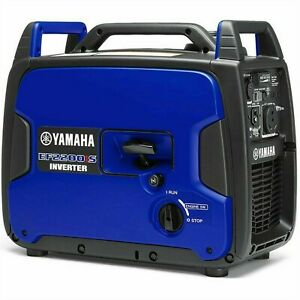 Yamaha Ef2200is 1800 Watt Inverter Generator W Rv Outlet New Carb Compliant
