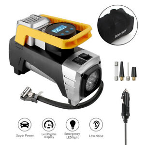 Geker Dc 12v Portable 150psi Lcd Car Tyre Auto Tire Inflator Pump Air Compressor