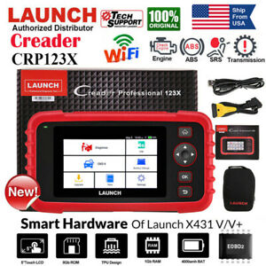 Launch Crp123x Cr529 Obd2 Scanner Auto Diagnostic Scan Tool Fault Code Reader