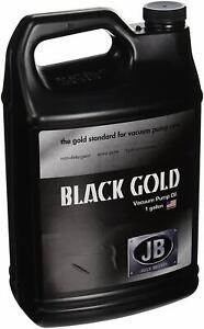 Jb Industries Vacuum Pump Oil Black Gold 1 Gallon