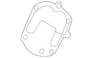 Genuine Nissan Supercharger Gasket 14115 3ky0a