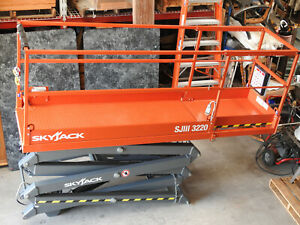 2019 Skyjack Sjiii 3220 New Scissor Lift Replacement Extension Deck