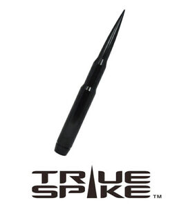 True Spike Billet 9 Fat Bullet Spiked Antenna Black For 07 18 Jeep Wrangler Jk